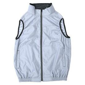 KAB10-L 山善 空調服 KAZE fit ベストタイプ Lサイズ(ライトグレー) YAMAZEN