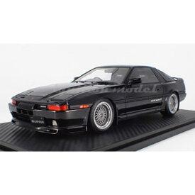 1/18 Toyota Supra 3.0GT turbo A (MA70) Black【IG1735】 ignitionモデル
