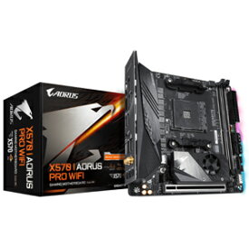 X570 I AORUS PRO WIFI GIGABYTE Mini-ITX対応マザーボードX570 I AORUS PRO WIFI