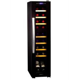 (標準設置料込)DCF-C18W デバイスタイル ワインセラー (18本収納)【右開き】 ブラック deviceSTYLE