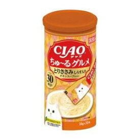 CIAO ちゅ〜るグルメ とりささみ しらす入り チキンスープ仕立て 14g×30本 SC-283 いなばペットフード CGトリササミシラスSC-283