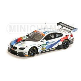 """1/43 BMW M6 GT3 """"SCHNITZER MOTORSPORT"""" BOUVENG/MARSCHALL #43 ADAC GT マスターズ 2018【447182643】 ミニチャンプス"""