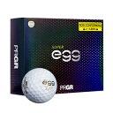 GB1031 プロギア 高反発・非公認球 ゴルフボール 1ダース 12個入り NEW SUPER egg BALL