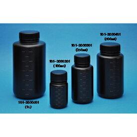 101-2030501 コクゴ JK-ボトル 広口 遮光(黒)1L (50本)
