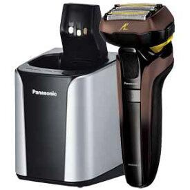 ES-CLV7E-T パナソニック メンズシェーバー(茶) Panasonic LAMDASH(ラムダッシュ) DRY/WASHABLE【5枚刃】 ES-LV7E の限定モデル