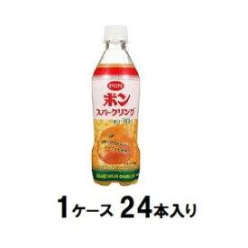 POM ポンスパークリング 410ml(1ケース24本入) えひめ飲料 ポンスパ-クリン410MLX24N2