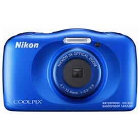 W150BL ニコン デジタルカメラ「COOLPIX W150」(ブルー)