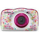 W150FL(WEBゲンテイ) ニコン デジタルカメラ「COOLPIX W150」(フラワー) WEB限定商品