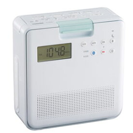 TY-CB100-W 東芝 防水CDラジオ(ホワイト) TOSHIBA