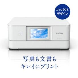 EP-882AW エプソン A4プリント対応 インクジェットプリンタ複合機(6色染料)/直感タッチパネル(ホワイト) EPSON Colorio(カラリオ)