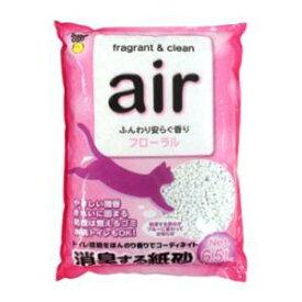 air 消臭する紙砂 フローラル 6.5L スーパーキャット AIRカミスナフロ-ラル6.5L