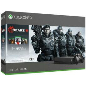 Xbox One X (Gears 5 同梱版) マイクロソフト [CYV-00336 XboxOneX ギアーズ5 ツウジョウ]
