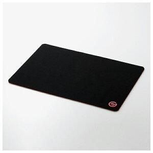 MP-G06BK エレコム ゲーミングマウスパッド 粗目クロス/ソフトタイプ/ワイド(ブラック)