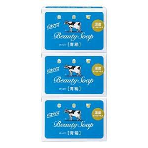 カウブランド 青箱バスサイズ 3コパック 牛乳石鹸共進社 COW アオハコバスサイズ3コ