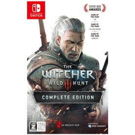 【Nintendo Switch】ウィッチャー3 ワイルドハント コンプリートエディション スパイク・チュンソフト [HAC-P-AURVL NSW ウィッチャー3]