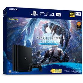 """PlayStation 4 Pro """"モンスターハンターワールド:アイスボーン マスターエディション"""" Starter Pack ソニー・インタラクティブエンタテインメント [CUHJ10032 PS4Pro モンスターハンターアイスボーン ゲンテイ]"""