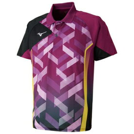 82JA801067150 ミズノ 卓球用ゲームシャツ(ジュニア)(クローバー・サイズ:150cm) MIZUNO 82JA8010_j