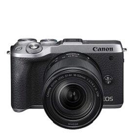 EOSM6MK2SL-18150IS キヤノン ミラーレス一眼カメラ「EOS M6 Mark II」EF-M18-150 IS STMレンズキット(シルバー) canon