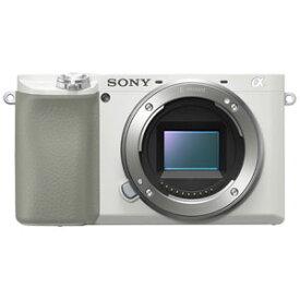 ILCE-6100-W ソニー デジタル一眼カメラ「α6100」ボディ(ホワイト)