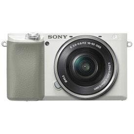 ILCE-6100L-W ソニー デジタル一眼カメラ「α6100」パワーズームレンズキット(ホワイト)