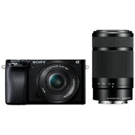 ILCE-6100Y-B ソニー デジタル一眼カメラ「α6100」ダブルズームレンズキット(ブラック)