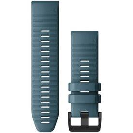 010-12864-13 ガーミン ベルト交換キット fenix 6X用(Lakeside Blue) GARMIN QuickFit F6 26mm [0101286413]【返品種別B】
