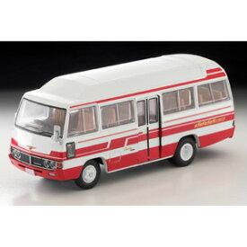 1/64 LV-184b トヨタ コースター ハイルーフ デラックス車 (白/赤)【302247】 トミーテック