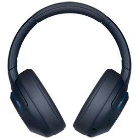 WH-XB900N-L ソニー ノイズキャンセリング機能搭載Bluetooth対応ダイナミック密閉型ヘッドホン(ブルー) SONY