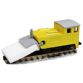 [鉄道模型]津川洋行 (N) 12511 レールクリーニングカー モップ君 (T車/車体色:黄)