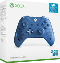 【Xbox One】Xbox ワイヤレス コントローラー (スポーツ ブルー) マイクロソフト [WL3-00159 Xboxワイヤレスコントロ…