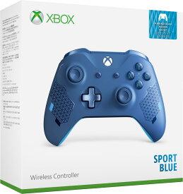 【Xbox One】Xbox ワイヤレス コントローラー (スポーツ ブルー) マイクロソフト [WL3-00159 Xboxワイヤレスコントローラー スポーツブルー]