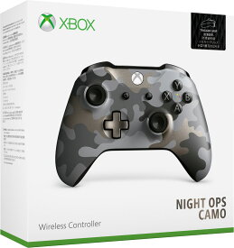 【Xbox One】Xbox ワイヤレス コントローラー (ナイト オプス カモ) マイクロソフト [WL3-00160 Xboxワイヤレスコントローラー ナイトオプスカモ]