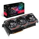 ROGSTRIXRX5700XTO8G エイスース PCI Express 4.0対応 グラフィックスボードASUS ROG-STRIX-RX5700XT-O8G-GAMING