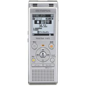 V-872-SLV オリンパス 4GBメモリ内蔵(シルバー)【外部microSDスロット搭載】 OLYMPUS Voice-Trek