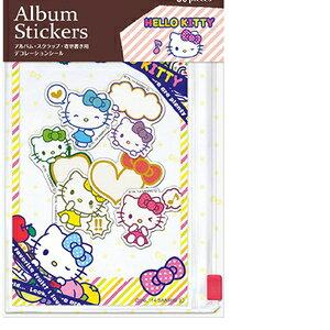 ATS-S101-1 ナカバヤシ デコルーレ アルバムステッカー(ハローキティ) Nakabayashi 写真コーディネートシリーズ