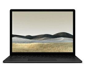 VEF-00039 マイクロソフト 13.5インチ Surface Laptop 3 - ブラック [第10世代インテル Core i7 / メモリ 16GB / ストレージ 256GB]Microsoft Office 2019搭載