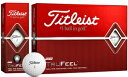 T6034S-J タイトリスト トゥルーフィール ゴルフボール 1ダース 12個入り(ホワイト) Titleist TRUFEEL