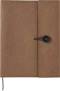 1901KFチヤ キングジム +Kraft(クラフト)ノートカバー B5サイズ(チャイロ) KING JIM
