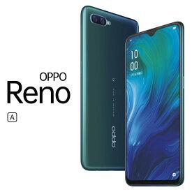 CPH1983(RENO A BL) OPPO(オッポ) Reno A(ブルー)- SIMフリースマートフォン [6.4インチ / メモリ 6GB / ストレージ 64GB]