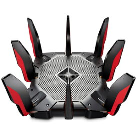 ARCHER AX11000 TP-Link 11ax(Wi-Fi 6)対応 次世代トライバンド ゲーミング 無線LANルーター親機(4804 Mbps+4804 Mbps+1148 Mbps)