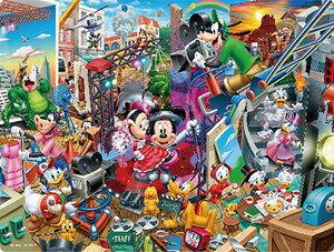 ディズニー 3Dマジックジグソーパズル ミッキーのムービースタジオ 99ピース ジグソーパズル テンヨー 【Disneyzone】