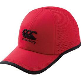 CCC-AC0923065 カンタベリー スタンダードキャップ(レッド・頭囲58cm) CANTERBURY STANDARD CAP