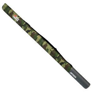 1424125 アブガルシア セミハードロッドケース2 長さ155cm(ウッドランドカモフラージュ)仕舞寸法150cmくらいまで(9.6ft2ピースロッド) AbuGarcia SEMI HARD ROD CASE 2 WOODLAND CAMO 9FT6IN