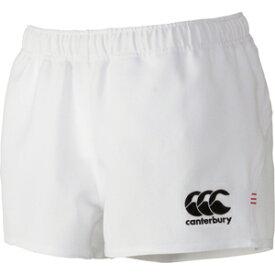 CCC-RG26010B10-5L カンタベリー ラグビーショーツ スタンダード(ホワイト・サイズ:5L) CANTERBURY RUGBY SHORTS(STANDARD)