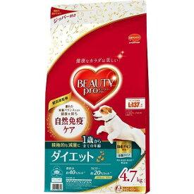 ビューティーDダイエット4.7kg 日本ペットフード BPドツグダイエツト1サイ4.7K