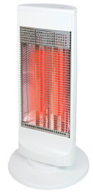 DCH-A909-WH ゼピール 電気ストーブ【カーボンヒーター】(ホワイト) 【暖房器具】ZEPEAL [DCHA909WH]