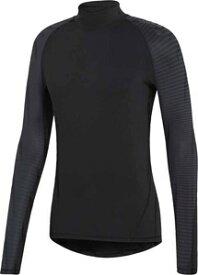 AJ-EMD49-CW4040-J/XS アディダス アルファスキン ATHLETE クライマウォーム ロングスリーブシャツ(ブラック・サイズ:XS) adidas メンズ ジム・トレーニング