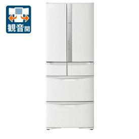 (標準設置料込)R-F48M4-W 日立 475L 6ドア冷蔵庫(パールホワイト) HITACHI [RF48M4W]