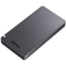 SSD-PGM480U3-B/N バッファロー USB3.2(Gen2)対応 外付けポータブルSSD 480GB(ブラック)【PS5/PS4/PS4 PRO 動作確認済】【簡易パッケージモデル】 WEB限定商品の為、パッケージは簡素化