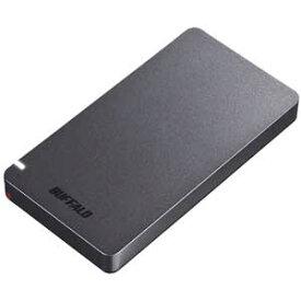 SSD-PGM960U3-B/N バッファロー USB3.2(Gen2)対応 外付けポータブルSSD 960GB(ブラック)【PS5/PS4/PS4 PRO 動作確認済】【簡易パッケージモデル】 WEB限定商品の為、パッケージは簡素化